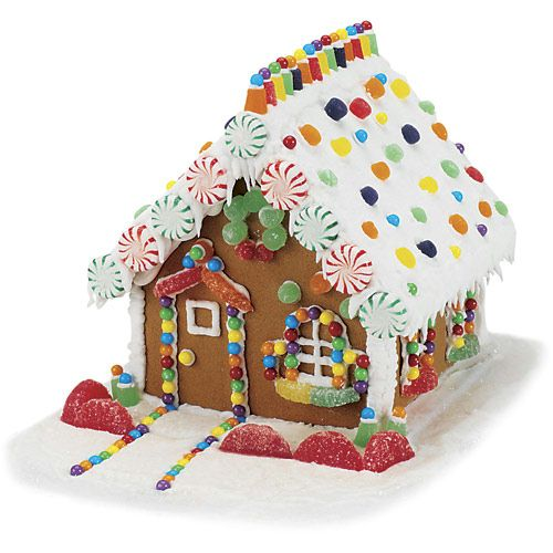 Simple Gingerbread House Recipe: Birthday Party Ideas