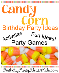 Candy Corn party ideas!  Games, activities, scavenger hunt!  http://www.birthdaypartyideas4kids.com/candy-corn-party.html